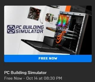 PC Building Simulator Game free