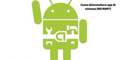 app di sistema senza root
