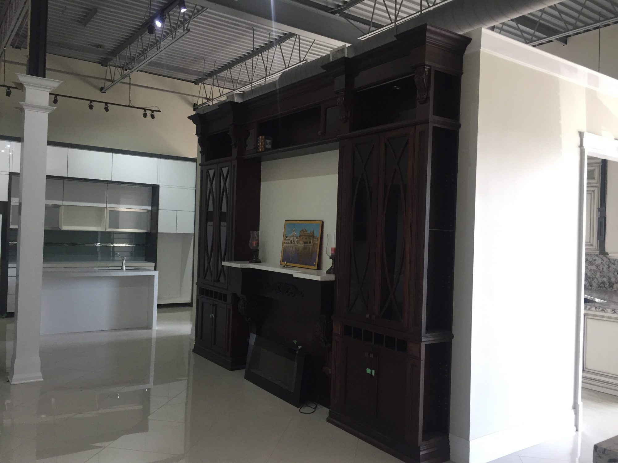 kitchen showroom cabinets sets mississauga technoarch