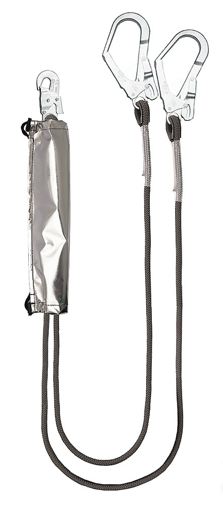 ABF212 KEVLAR (ABF212) two-leg fire-resistant lanyard with