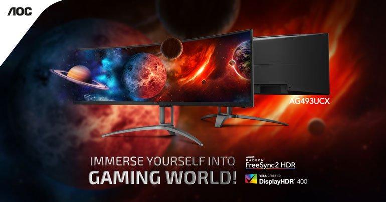 AOC AG493UCX Gaming Monitor