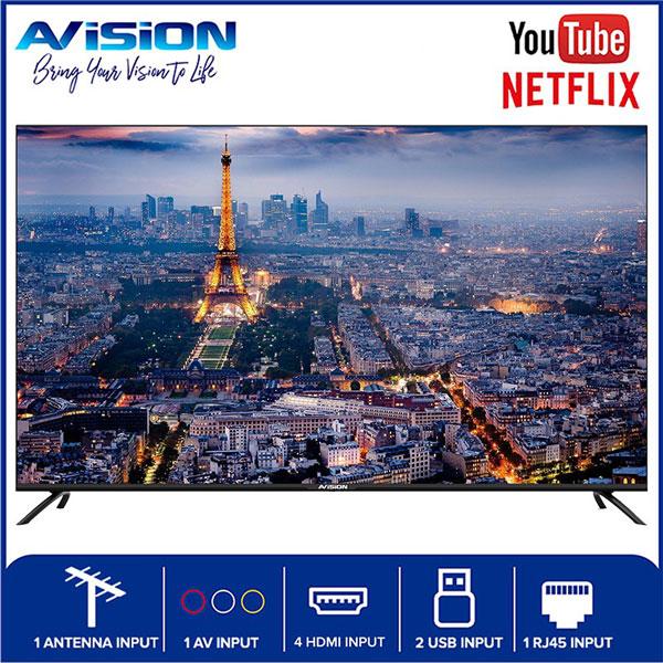 55-inch Avision Frameless Smart Digital HD Led TV