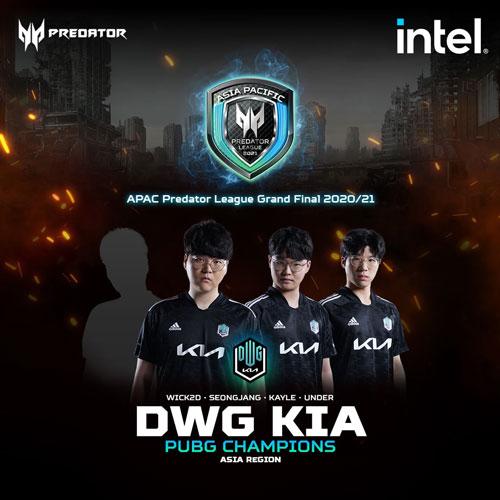 Asia-Pacific Predator League Finals - Team DWG Kia