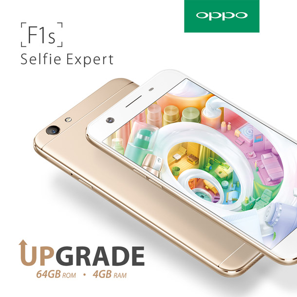Oppo f1s upgraded