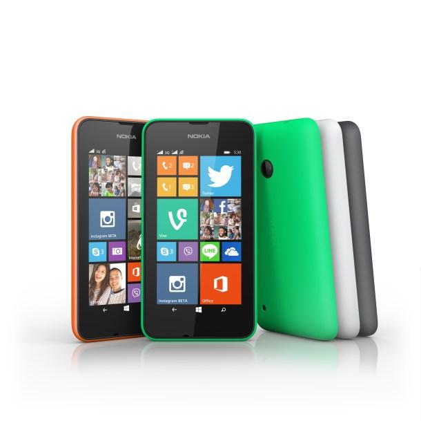 Lumia 530 group