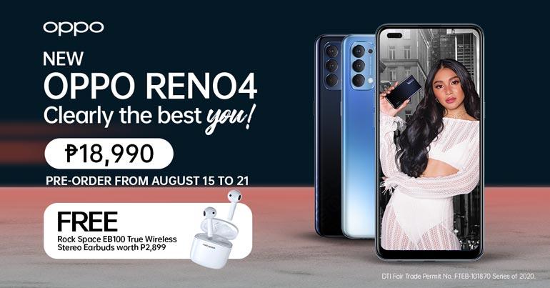 oppo reno4 pre-order Philippines