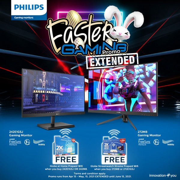 Philips Gaming Monitor Easter Gaming Promo Extended
