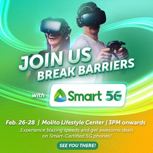 Smart 5G Experiential Zone Molito Alabang