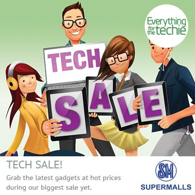 SM Cyberzone Tech Sale