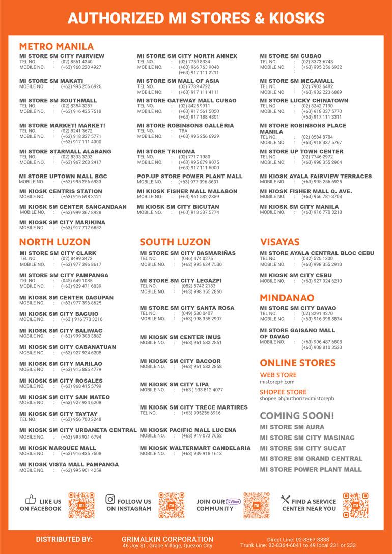 Xiaomi Mi Store Brochure May - June 2021