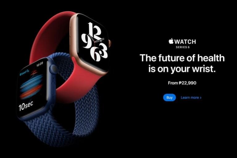 Apple Watch Series 6 Price Philippines
