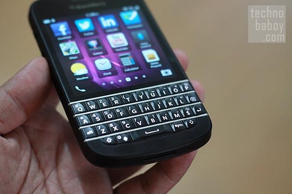 BlackBerry Q10 - QWERTY Keyboard