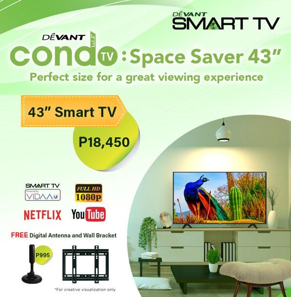 Devant 43-inch Smart TV