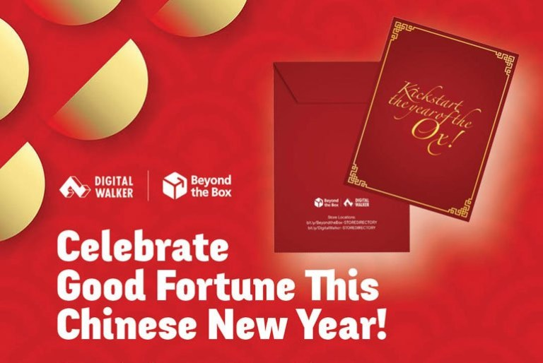 Digital Walker, Beyond the Box Chinese New Year Promos