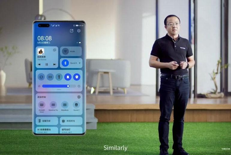 Huawei HarmonyOS 2 for phones