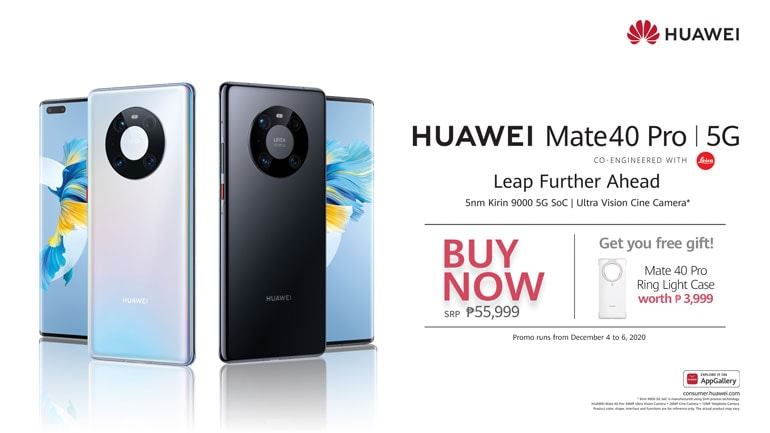 Huawei Mate 40 Pro Price Philippines
