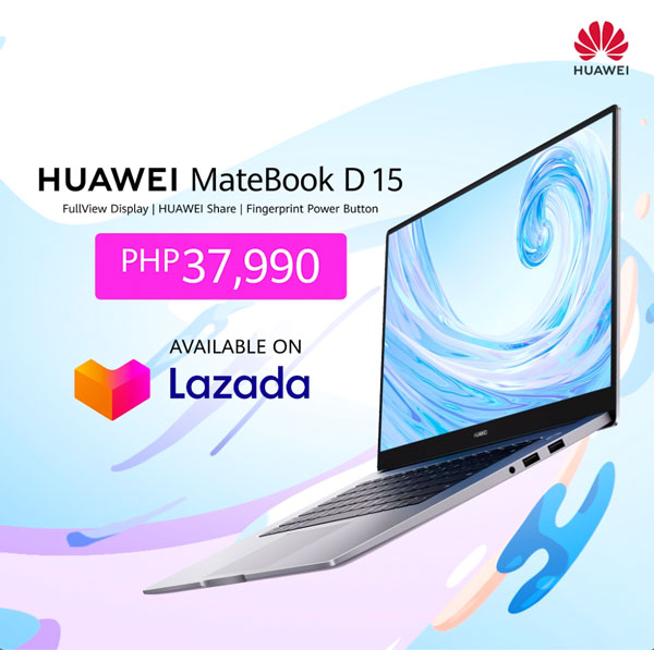 Huawei MateBook D 15 Pre-order Philippines
