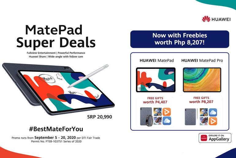 Huawei MatePad Super Deals Promo
