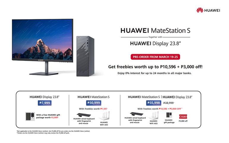 Huawei MateStation S Price Philippines