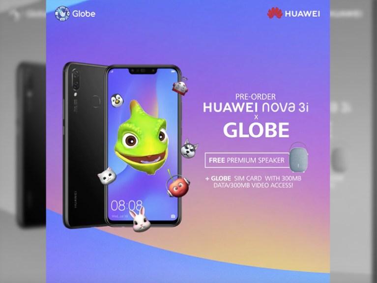 huawei nova 3i globe