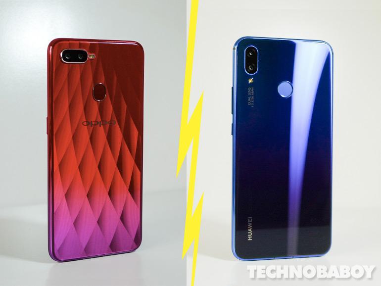 Specs Comparison: Huawei Nova 3i vs. OPPO F9 - Technobaboy Philippines