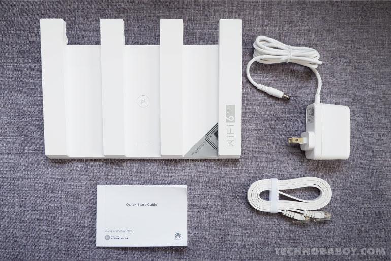 Huawei WiFi AX3 initial review