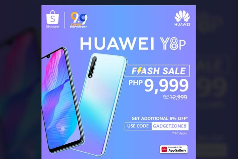 Huawei Y8P Shopee 9.9 Flash Sale
