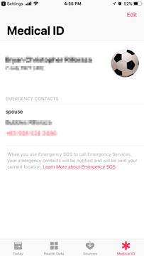 ios 11 emergency sos