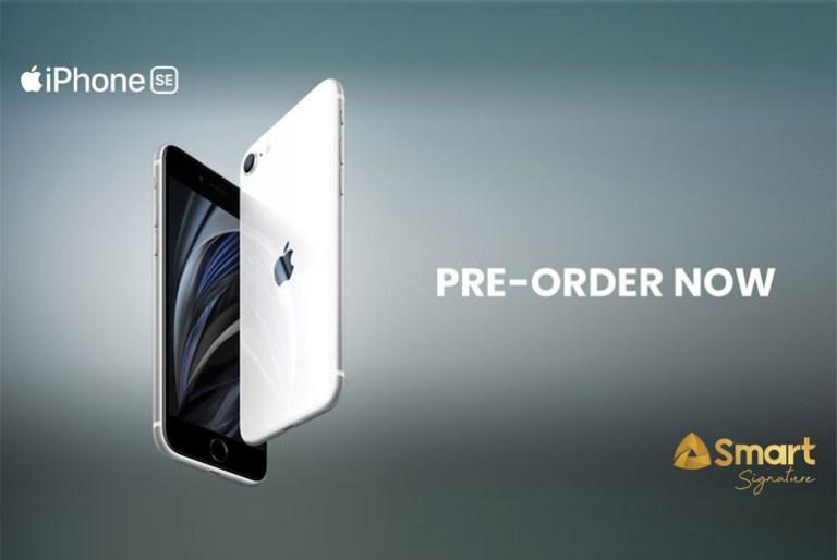 iPhone SE Smart Signature