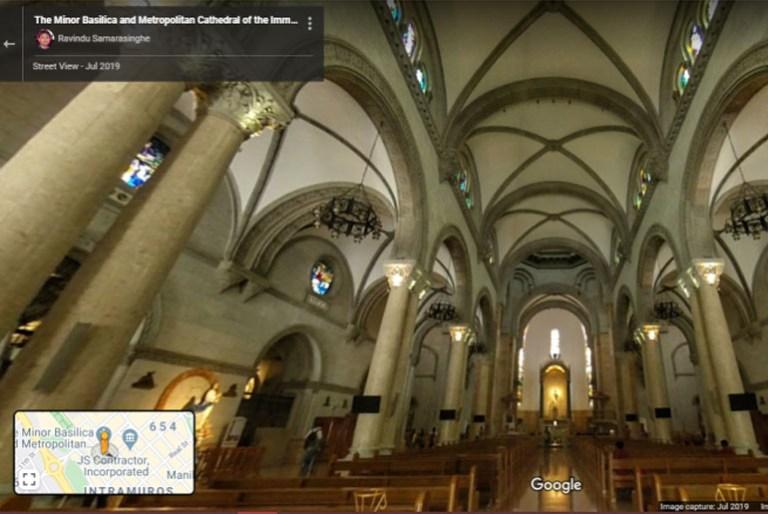 Google Street View Philippine Churches
