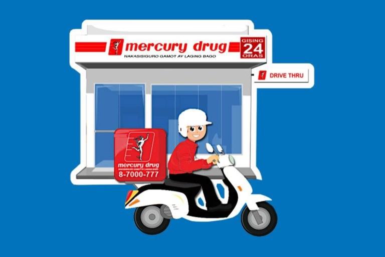 mercury drug online viber delivery