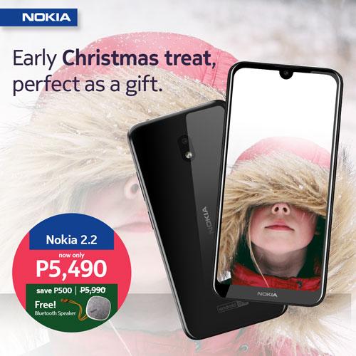 Nokia Christmas Three Promo - Nokia 2.2