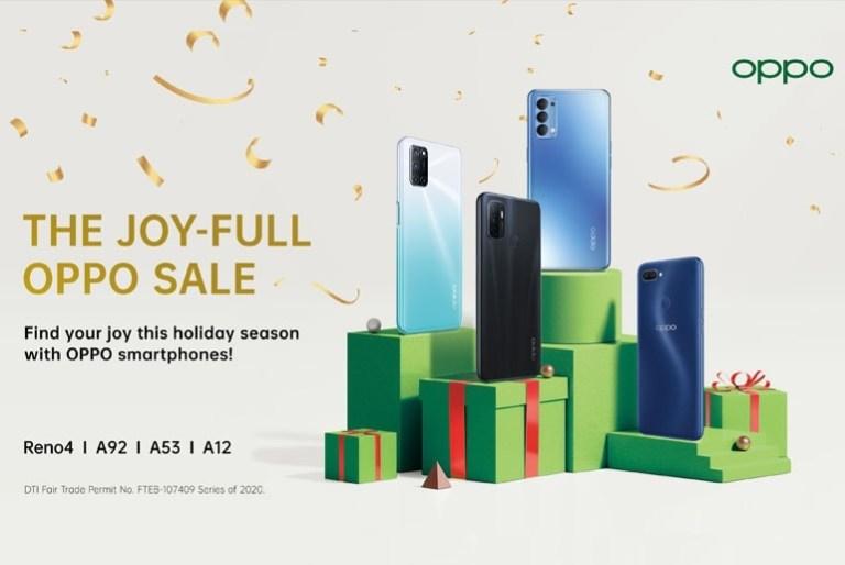 OPPO JoyFullSale Christmas Promo