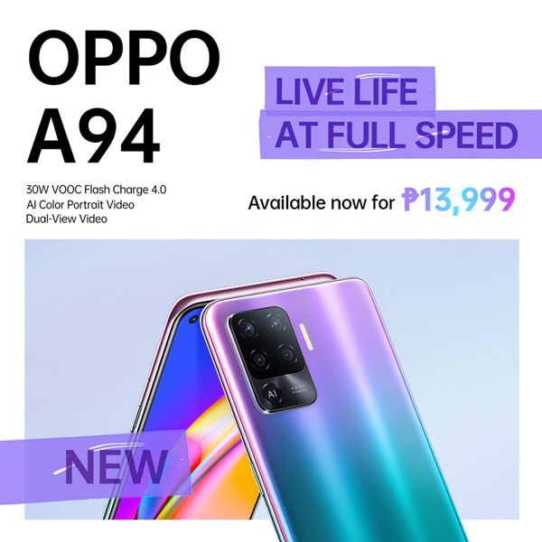 OPPO A94 Price Philippines