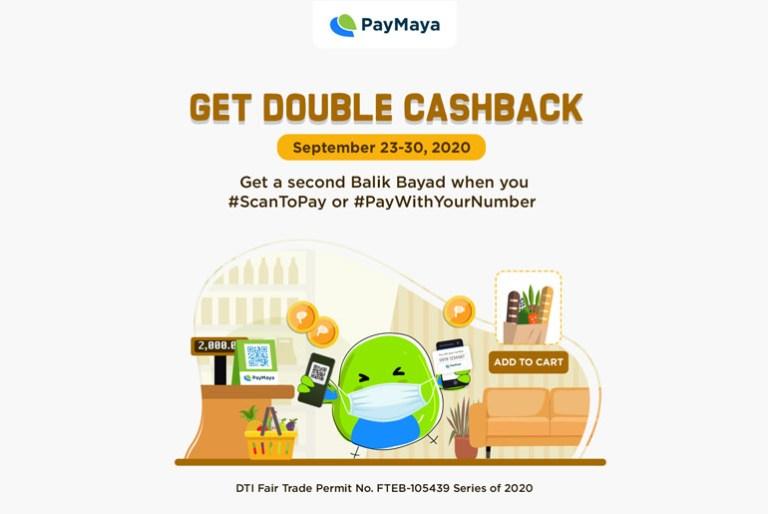 paymaya double cashback promo