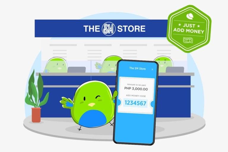 PayMaya Add Money SM Store