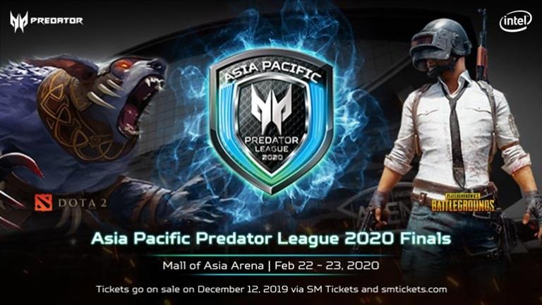 Acer Asia Pacific Predator League