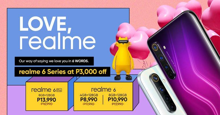 realme 6, 6 Pro Price Drop