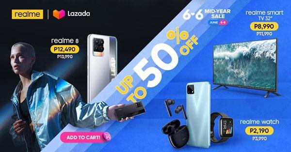realme Shopee Lazada 6.6. Sale list