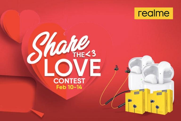 Realme Share the Love Contest