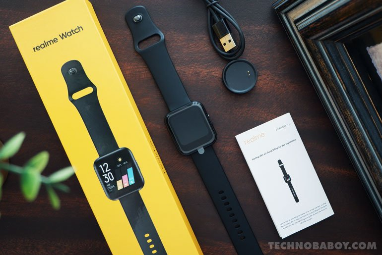 realme Watch unboxing hands-on review