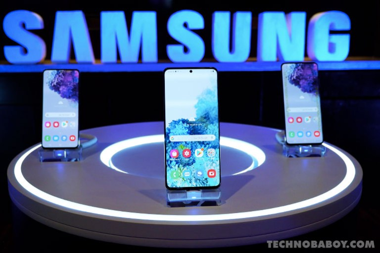 Smart Signature Samsung Galaxy S20 series
