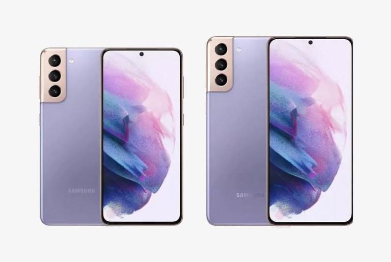 Samsung Galaxy S21 leak render