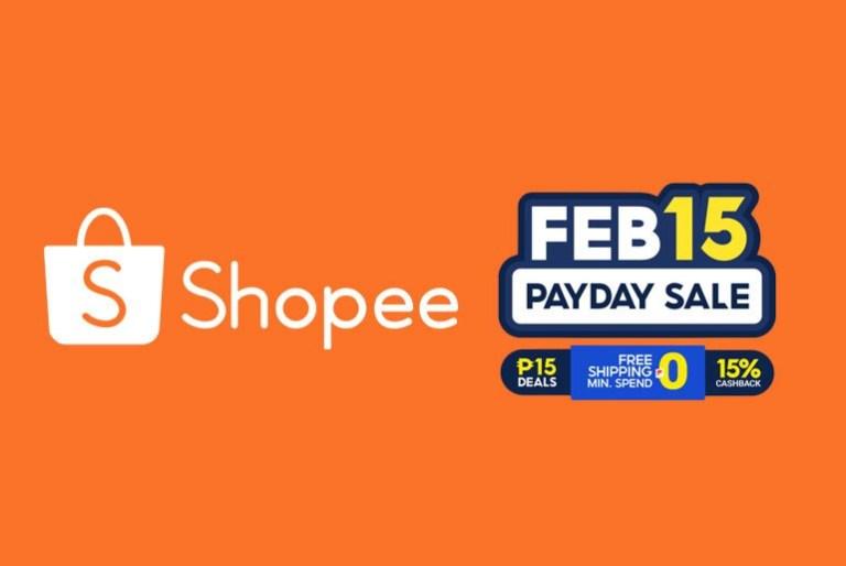 Shopee PayDay Sale February 15
