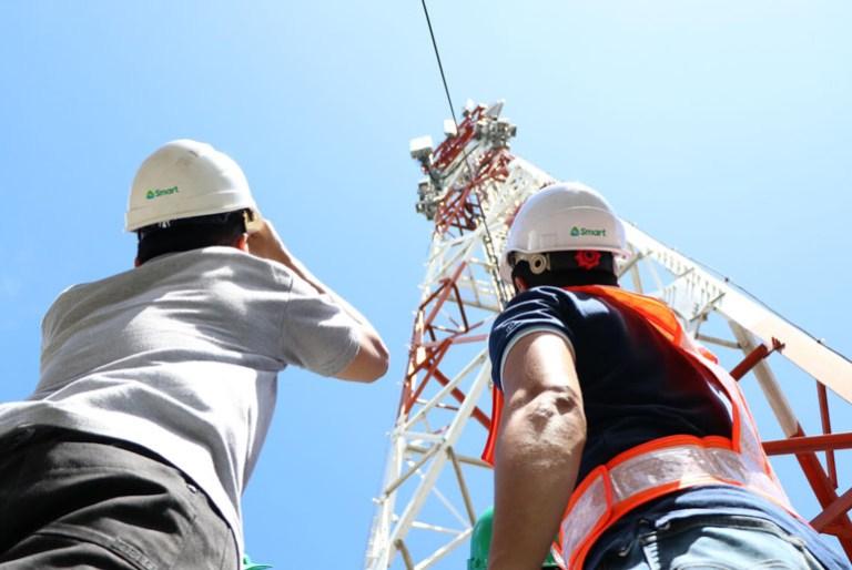 Smart LTE 5G cellsite