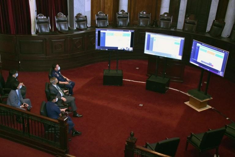 Supreme Court of the Philippines E-Warrant