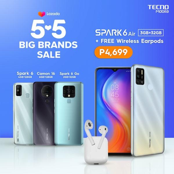 TECNO Mobile 5.5 Sale Lazada