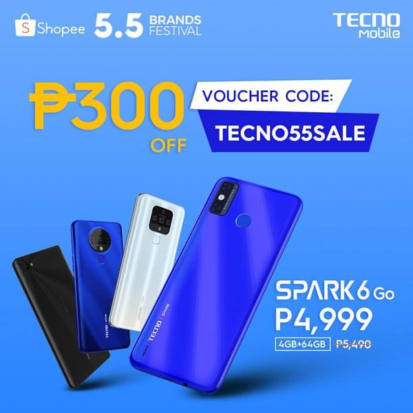 TECNO Mobile 5.5 Sale Shopee