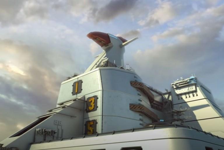 Voltes V Legacy Camp Big Falcon