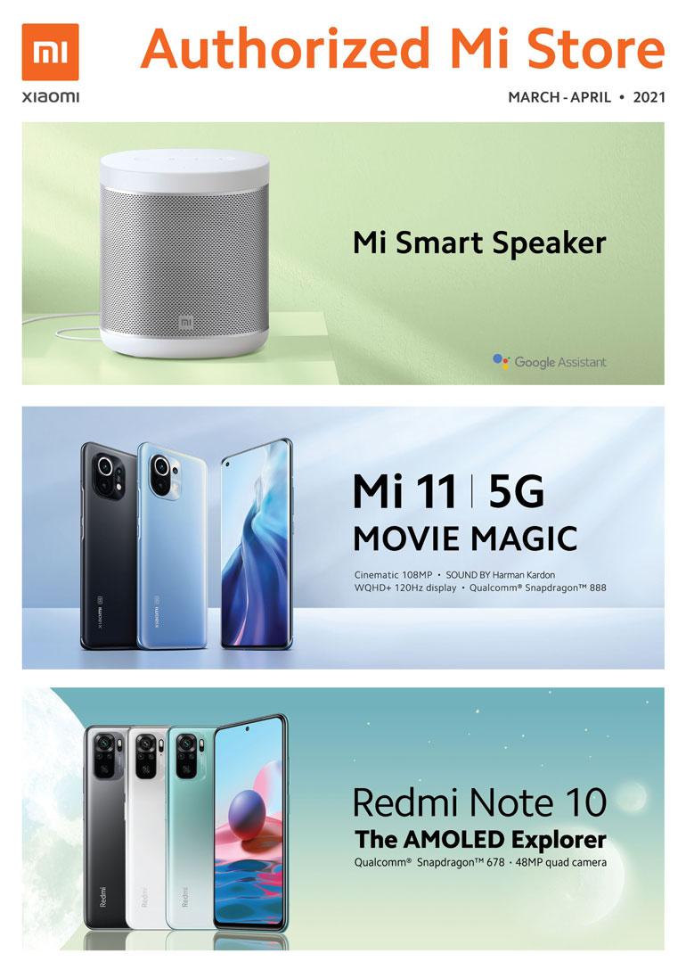 Xiaomi Mi Store Product Brochure Mar/Apr